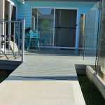 Wide accessible ramps to house