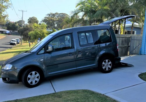 Easy access for wheelchair accessible vehicles