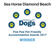 Five Paws Pet Friendly Accommodation Award